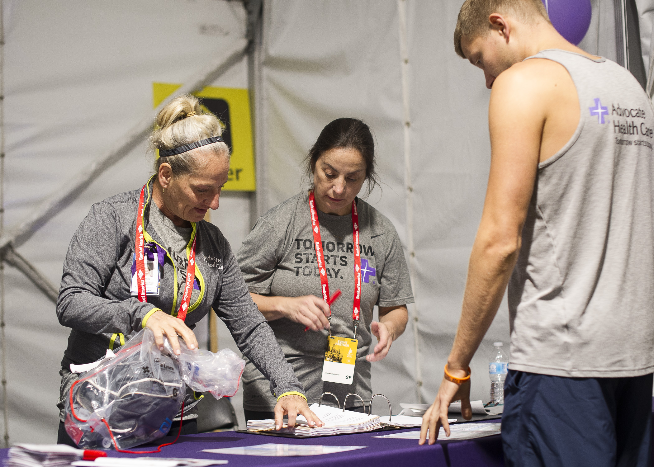 2018 Chicago Marathon Volunteers