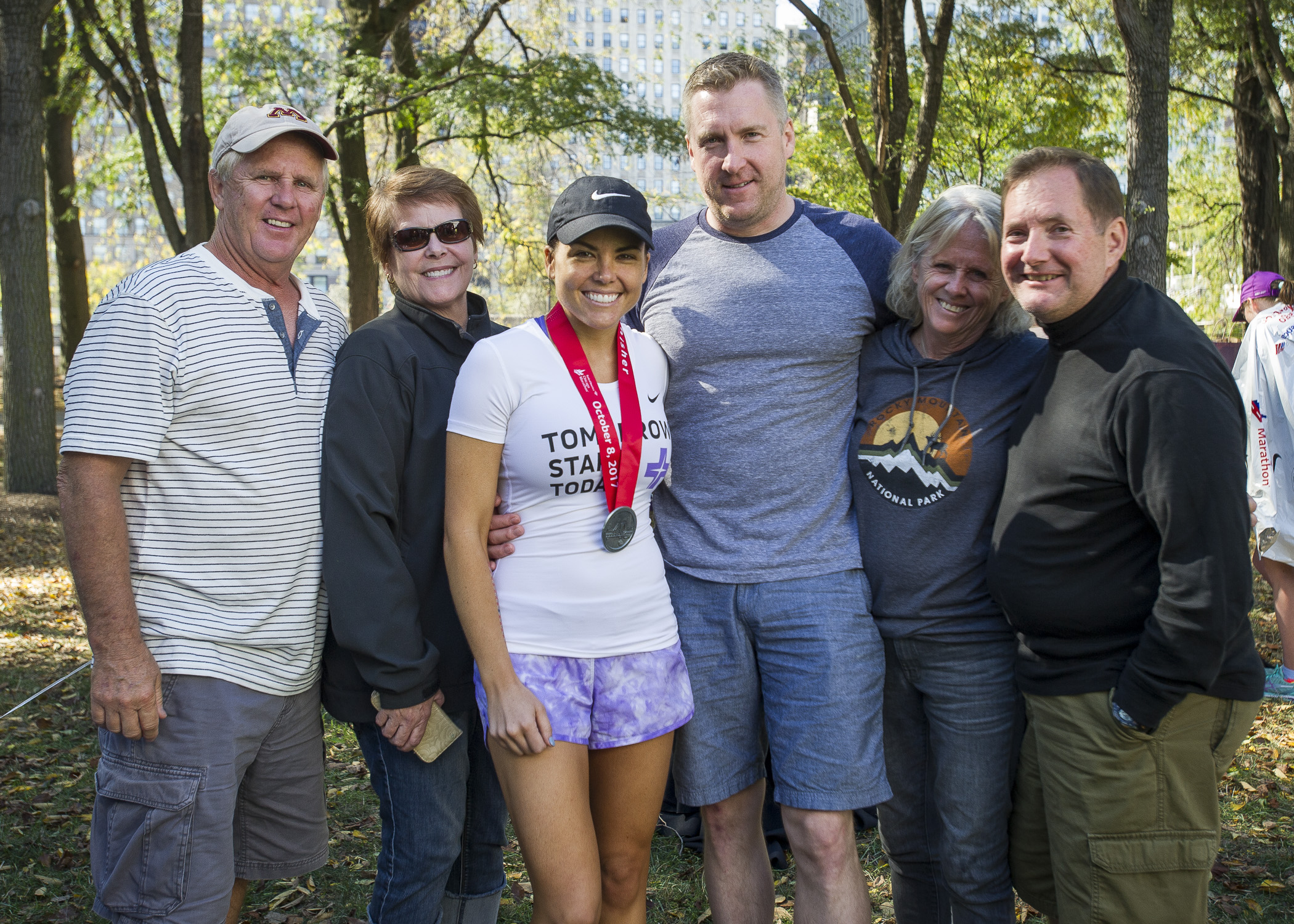 2018 Chicago Marathon About Team Group